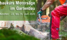 Aubaukurs Motorsäge im Gartenbau 32/20